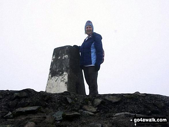 On the top of Ben Nevis