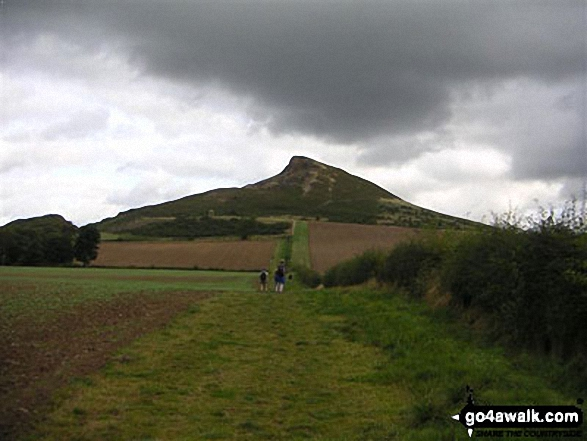 Roseberry Topping - The Yorkshire Matterhorn - on an alternative coast to coast walk