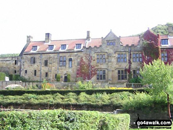 Mount Grace Priory - on an alternative coast to coast walk