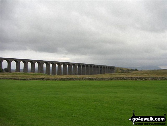 Ribblehead Viaduct - on an alternative coast to coast walk