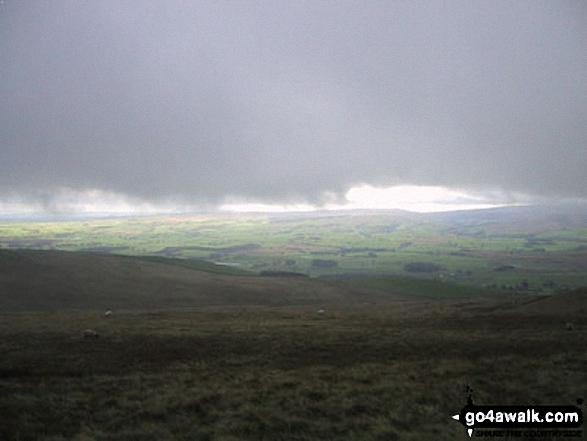 Clapham and Newby Moss from Little Ingleborough