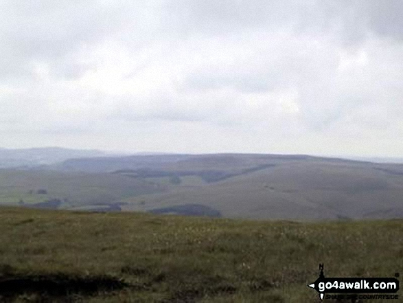 Kinder Scout from Shining Tor
