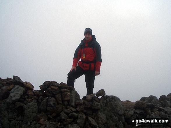 Raise (Helvellyn) summit cairn