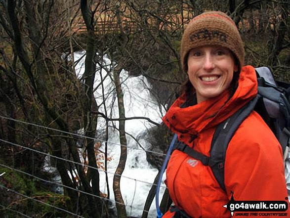 Helvellyn Gill Waterfalls near Thirlmere