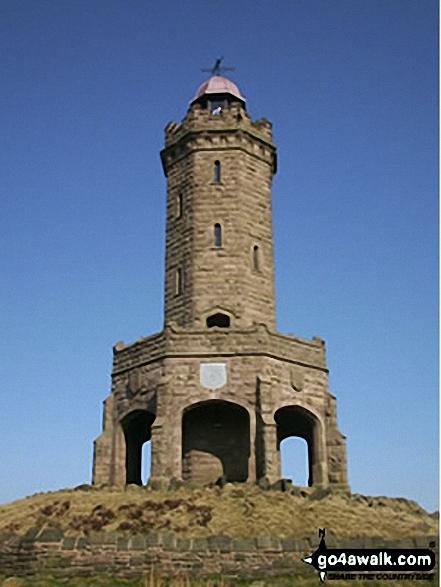 Darwen Tower, Darwen Moor