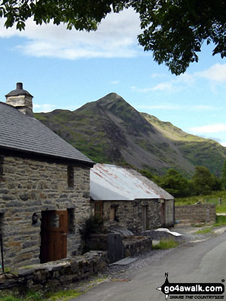 Walk Cnicht walking UK Mountains in The Moelwyns Snowdonia National Park Gwynedd    Wales
