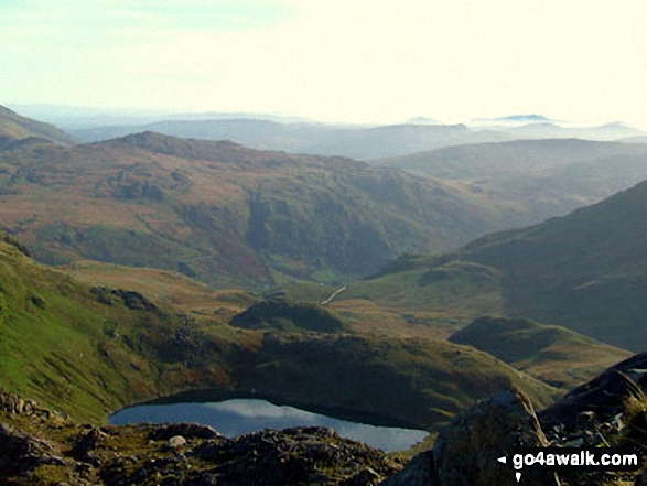 Glaslyn from Snowdon