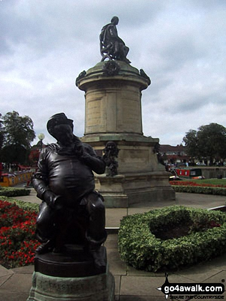 Shakespeare's Statue