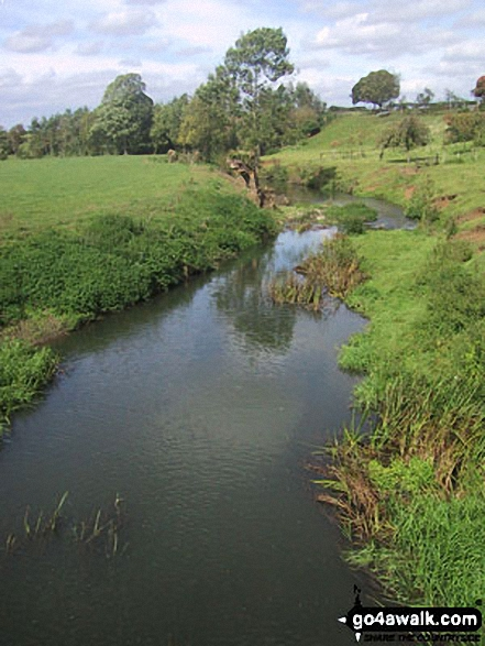 The River Stour at Clifford Chambers