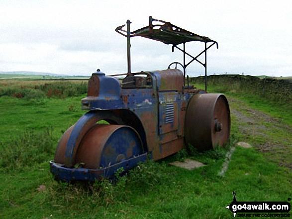 Old Steam Roller on Slipper Hill