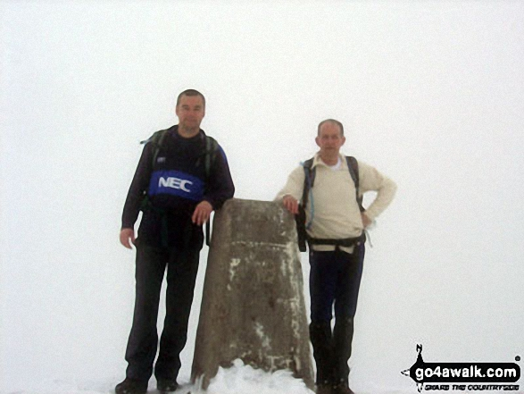 Richie and I on the summit of Ben Nevis