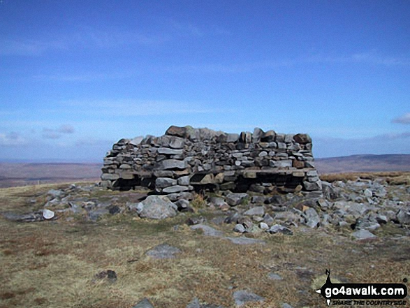 The summit of Great Shunner Fell,  the highest point in The Northern Dales Area Photo: Paul Harrison
