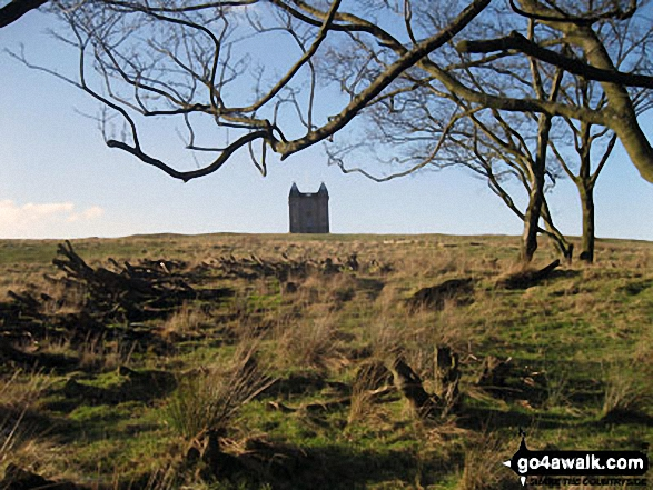 The Cage from Coalpit Clough - Lyme Park Country Park