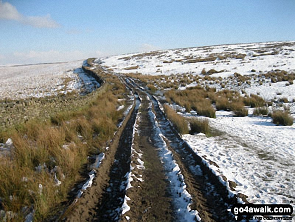 Sponds Moor in the snow