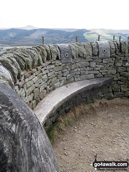 Inside Tegg's Nose summit shelter