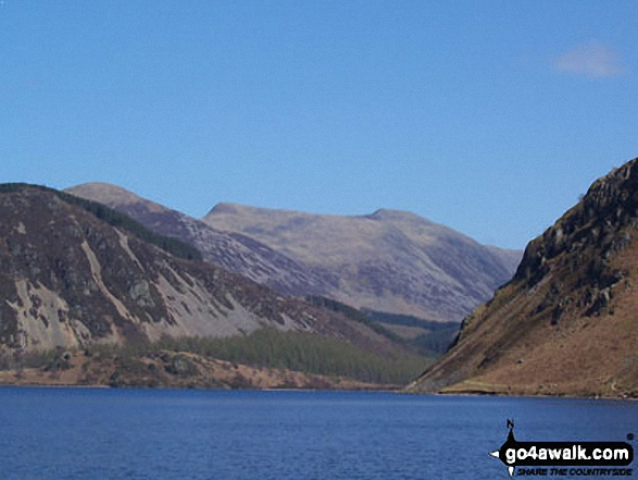 Red Pike (Buttermere) and High Stile from Ennerdale Water