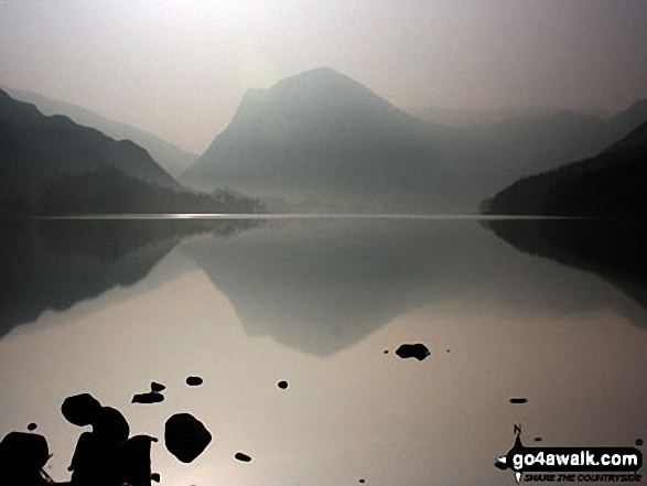 Fleetwith Pike reflected in Buttermere