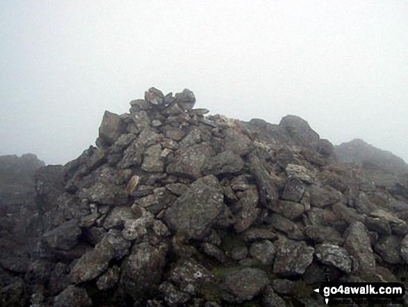 Moel Lefn summit cairn