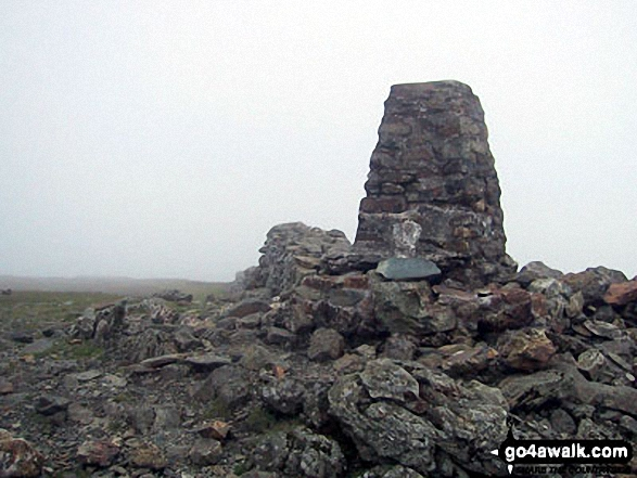 The summit of Moel Hebog,  the highest point in The Moel Hebog area Photo: Paul Latham