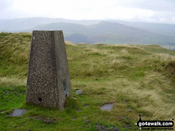 Chinley Churn summit trig point