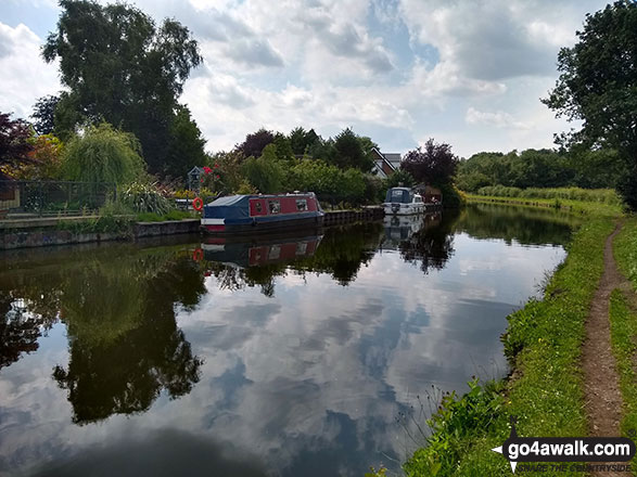 Walk ch132 The Lymm Heritage Trail - The Bridgewater Canal near Statham