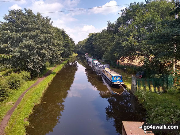 Walk ch132 The Lymm Heritage Trail - Pickerings Bridge from The Bridgewater Canal near Thelwall