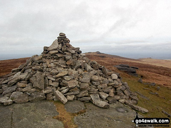 Yes Tor from the cairn on High Willhays