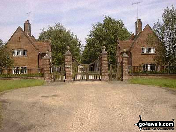 The Official Entrance to Chequers
