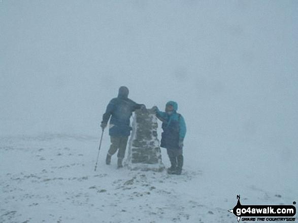 A very snowy Helvellyn in early March!