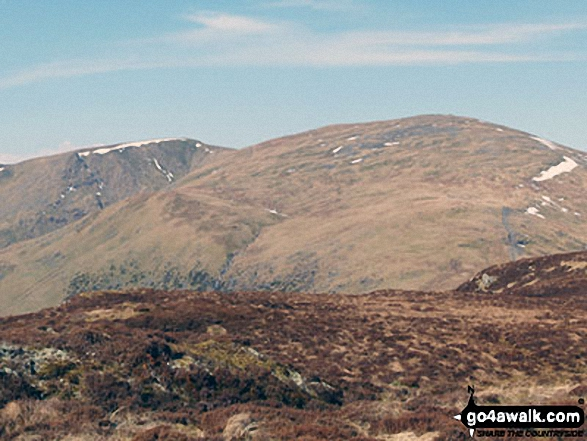 White Side and Raise (Helvellyn) from Sheffield Pike