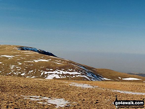 Grasmoor from Crag Hill (Eel Crag) trig point