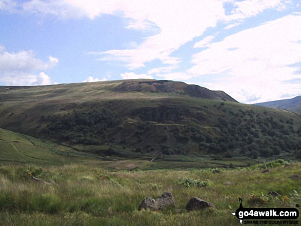 Westend Moss and Hey Moss from the Pennine Way below Black Chew Head (Laddow Rocks)