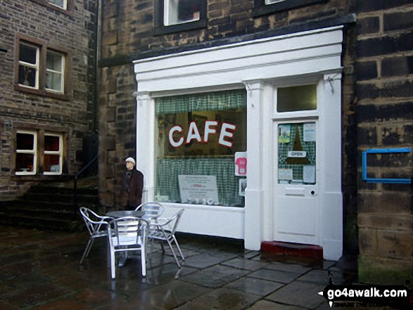 Sid's Cafe (from BBC TV's Last of the Summer Wine), Holmfirth