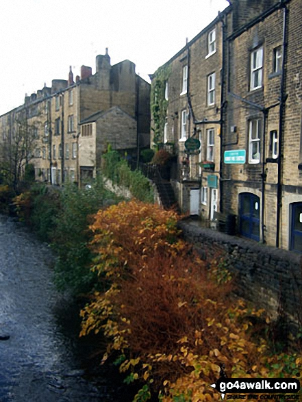 Nora Batty's House (from BBC TV's Last of the Summer Wine), Holmfirth