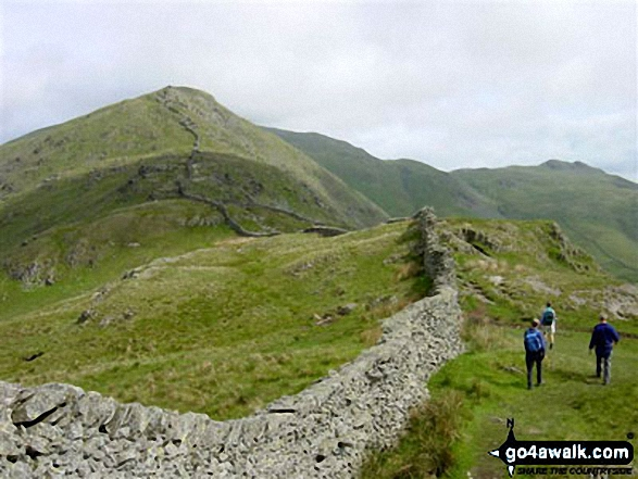 Walk High Pike (Scandale) walking UK Mountains in The Eastern Fells The Lake District National Park Cumbria    England