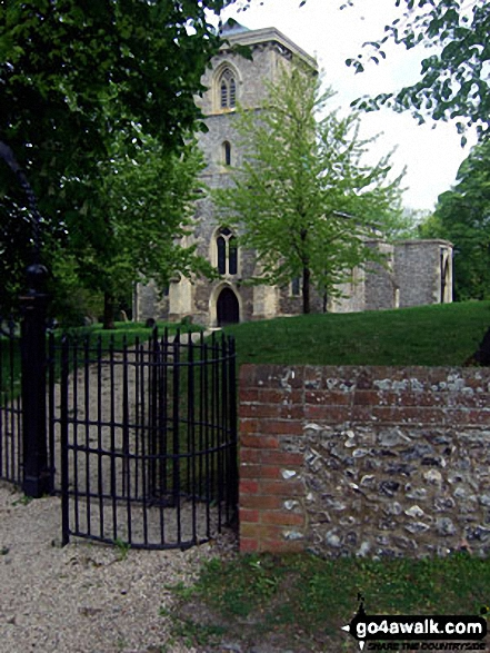 Bledlow church