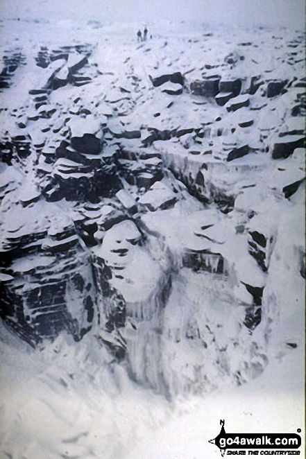 Kinder Downfall frozen solid