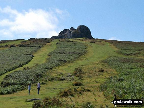 Approaching Haytor Rocks
