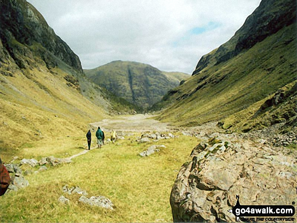 The  Lost Valley , tucked away between Aonach Dubh and Gearr Aonach (2 of the 3 sisters of Glen Coe)