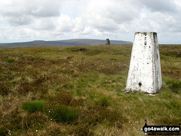White Hill (Forest of Bowland) trig point