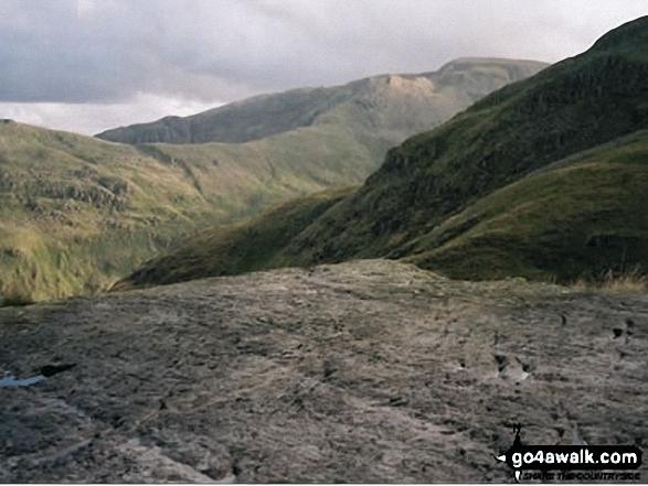 Fairfield from Hard Tarn (below Nethermost Pike)