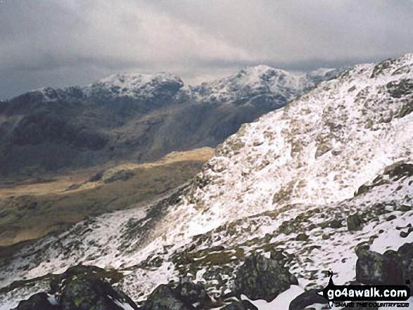 The Scafell Massif from Crinkle Crags (Long Top)