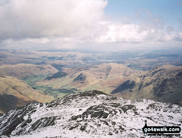 Great Langdale from Crinkle Crags (South Top)