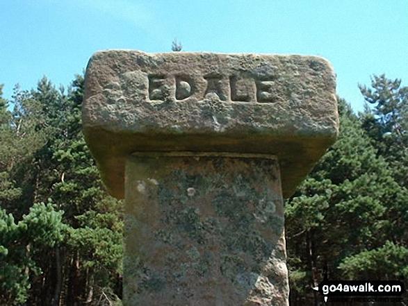 Hope Cross near Edale