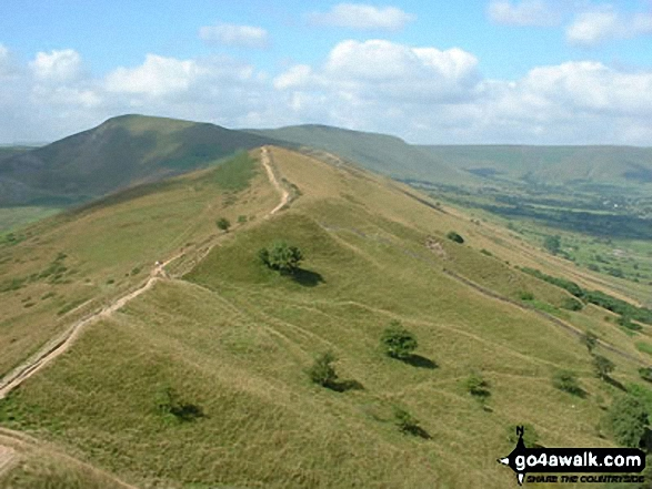 Lose Hill (Ward's Piece) from Mam Tor