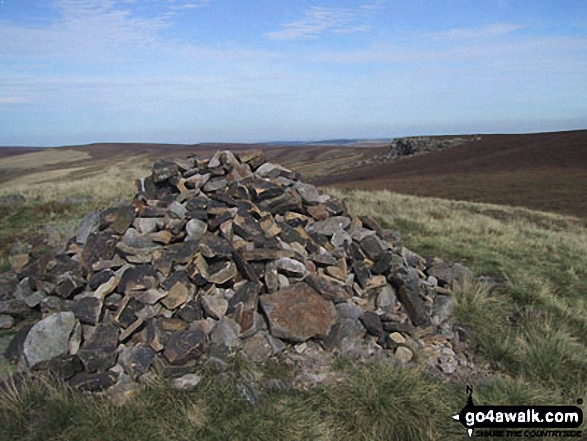 The cairn at Lost Lad, Derwent Edge