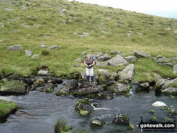 Crossing the River Walkham