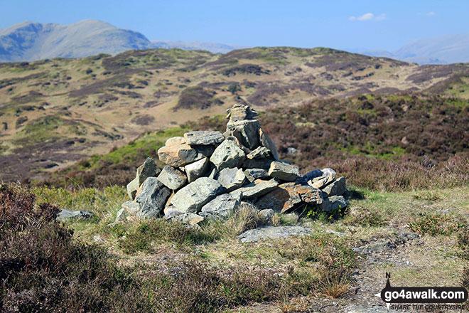 Cairn on the summit of Arnsbarrow Hill
