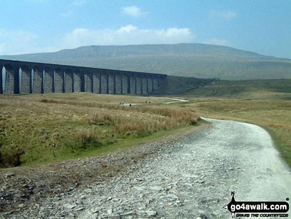 Ribblehead Viaduct with Whernside beyond