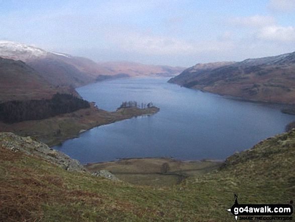 Haweswater Reservoir from Rough Crag (Riggindale)